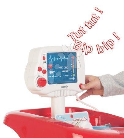 Medicinska kolica za djecu - Medicinska kolica Smoby sa zvukom i tlakomjerom i 12 dodataka_1