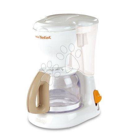 Spotřebiče do kuchyňky - Snídaňová sada s kávovarem a toaster Mini Tefal Smoby s 8 doplňky bílý_1