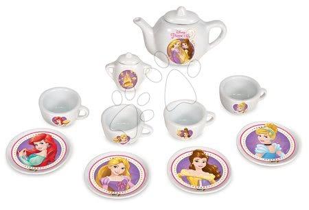 Smoby detská čajová súprava z porcelánu Princezné 24723 biela