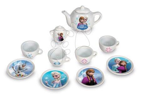 Čajni servis Frozen Smoby porcelan z 12 dodatki