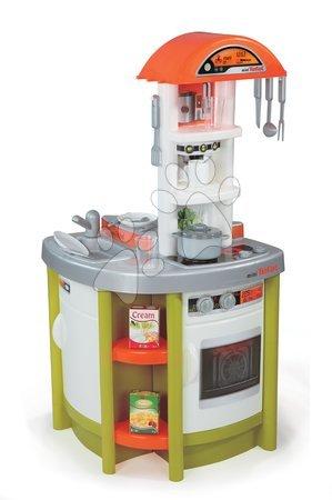 Bucătărie de jucărie Studio Tefal Smoby cu sunet electronic și 19 accesorii verde
