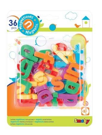 Mágnesek Smoby kis betűk 36 darab