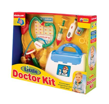 Medicinska kolica za djecu - Kiddieland 28399 Activity doktor set_1