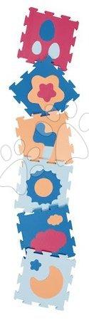 Podlahové puzzle pro miminka - Pěnové puzzle počasí Lee podložka pro nejmenší 6 dílů 32*32*1,3 cm od 0 měsíců