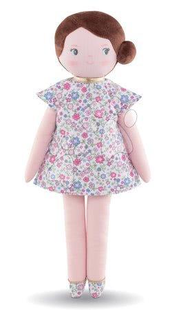 Bábiky od 0 mesiacov - Handrová bábika Bella Corolle's Flowers Corolle Mon Doudou s hnedými vláskami a modrými očami 34 cm od 0 mes