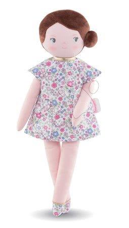 Bábiky od 0 mesiacov - Handrová bábika Bella Corolle's Flowers Corolle Mon Doudou s hnedými vláskami a modrými očami 34 cm od 0 mes_1
