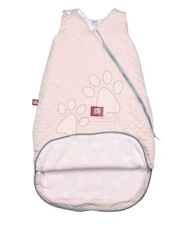 Red Castle - Dojčenský spací vak Red castle Fleur de Coton® mäkké hniezdo prešívaný ružový od 12-24 mesiacov_1