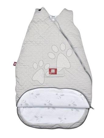 Red Castle - Dojčenský spací vak mäkké hniezdo Pearl Grey Fleur de Coton® Red Castle 12-24 mesiacov prešívaný šedý_1