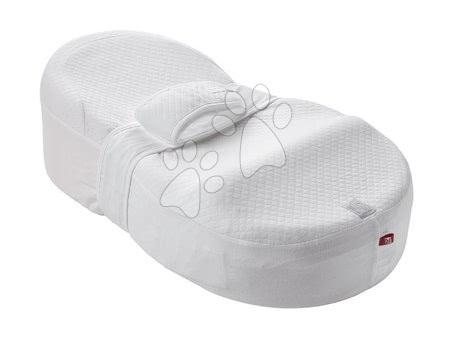 Red Castle - Hnízdo na spaní Cocoonababy® Red Castle pro miminka s doplňky bílé od 0 měsíců