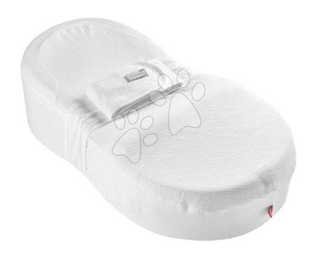 Red Castle - Hnízdo na spaní Cocoonababy® pro miminka Red Castle Cotton Bubbles 0-4 měsíců bílé z bavlny (s doplňky)