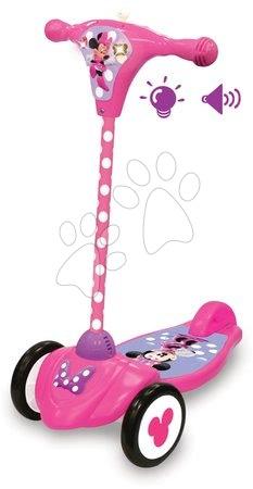 Minnie Mouse - Koloběžka Minnie Kiddieland se zvukem a světlem od 12-36 měsíců od 12 měsíců