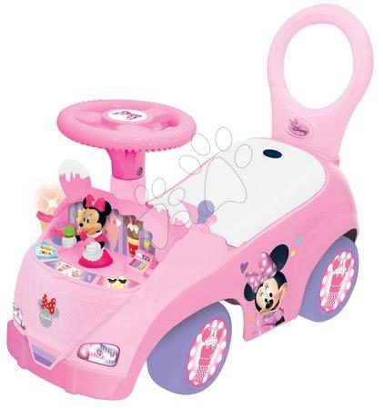 Minnie Mouse - Odrážedlo Activity Minnie se zmrzlinou Kiddieland se světlem a zvukem