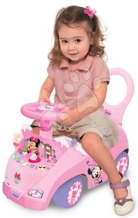 Minnie Mouse - Odrážedlo Activity Minnie se zmrzlinou Kiddieland se světlem a zvukem_1