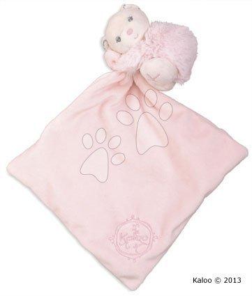 Kaloo plyšový medvedík Perle-Hug Doudou 962160 ružový