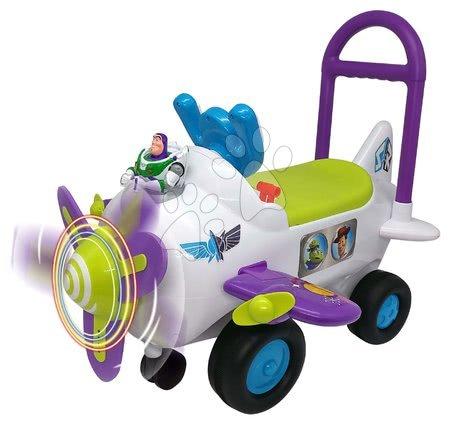 Toy Story - Odrážadlo lietadlo Buzz Lightyear Toy Story Kiddieland so zvukom a svetlom od 12 mes