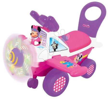 Minnie Mouse - Odrážedlo letadlo Minnie Kiddieland se zvukem a světlem od 12 měsíců