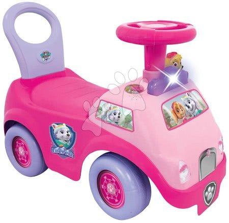 Babytaxiu cu sunete și lumini Paw Patrol Kiddieland roz de la 12-36 luni