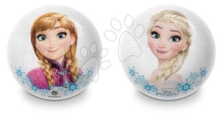 Gumová trblietavá lopta Frozen a Princess Disney Mondo 10 cm