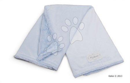 Babapléd Perle-Buggy Blanket Kaloo micro-velour kék