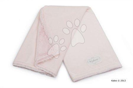 Babapléd Perle-Buggy Blanket Kaloo micro-velour rózsaszín
