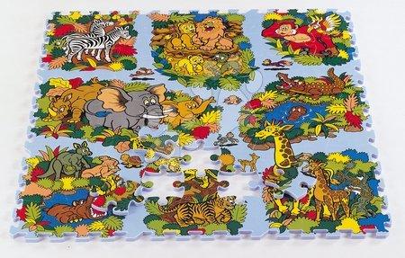 Lee Chyun - Habszivacs puzzle Animal Land Állatvilág Lee 81 darab 92*92*1,4 cm 0 hó-tól