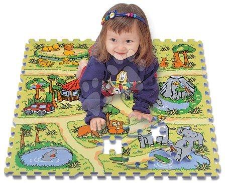 Lee Chyun - Habszivacs puzzle Safari állatok Lee 81 darab 92*92*1,4 cm 0 hó-tól