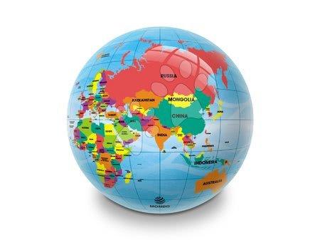 Mingi de poveste - Minge din cauciuc Harta Lumii Mappa Geo Mondo 23 cm_1