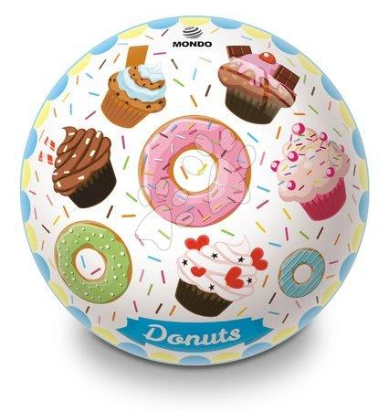 Mingi de poveste - Minge fabuloasă din cauciuc Donuts și Ice Cream Mondo 23 cm_1