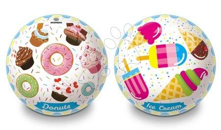 Mingi de poveste - Minge fabuloasă din cauciuc Donuts și Ice Cream Mondo 23 cm
