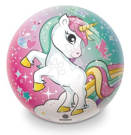 Meselabdák - Gumi meselabda Egyszarvú Unicorn Mondo 23 cm