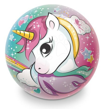 Mingi de poveste - Minge fabuloasă din cauciuc Unicorn Unicorn Mondo 23 cm_1