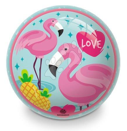 Meselabdák - Gumi meselabda Flamingo Mondo 23 cm