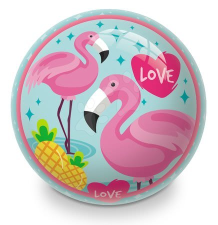 Mingi de poveste - Minge fabuloasă din cauciuc Flamingo Mondo 23 cm_1