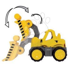Kültéri játékok - Játék buldózer Maxi Bolide Smoby hossza 47 cm