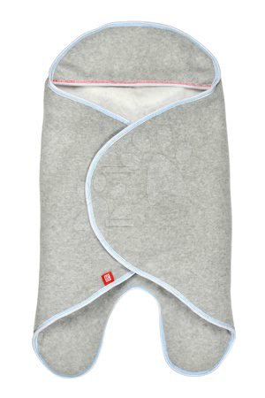 Zavinovačka Red Castle Babynomade® Double Fleece French Touch šedá 0-6 měsíců - dvouvrstvý fleece