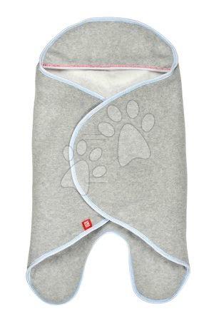 Red Castle - Zavinovačka Red Castle Babynomade® Double Fleece French Touch šedá 0-6 mesiacov - dvojvrstvový fleece
