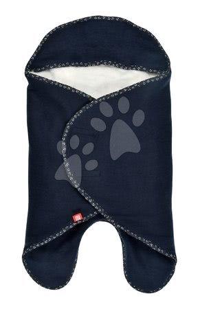 Red Castle - Zavinovačka Red Castle Babynomade® Double Fleece Marine modrá 0-6 mesiacov - dvojvrstvový fleece