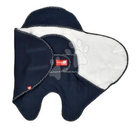 Red Castle - Zavinovačka Red Castle Babynomade® Double Fleece Marine modrá 0-6 mesiacov - dvojvrstvový fleece_1