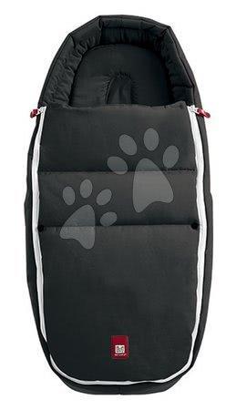 Red Castle - Fusak do kočíka Baby Cocoon CityLink® III Red Castle čierny, kompatibilný pre väčšinu kočíkov od 0 mesiacov