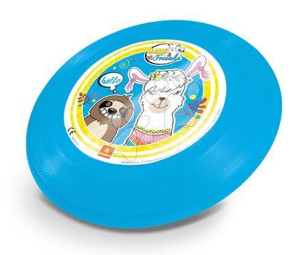 Discuri zburătoare - Farfurie zburătoare Llama și prietenii Mondo 23 cm