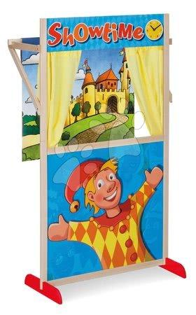 Eichhorn - Drveno lutkarsko kazalište Puppet Theatre Eichhorn s bajkovitim prizorom i zavjesom 110 cm visina