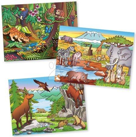 Pohádkové kostky - Dřevěné puzzle kostky Picture Cube Eichhorn 12 kostek se 6 motivy zvířátek_1