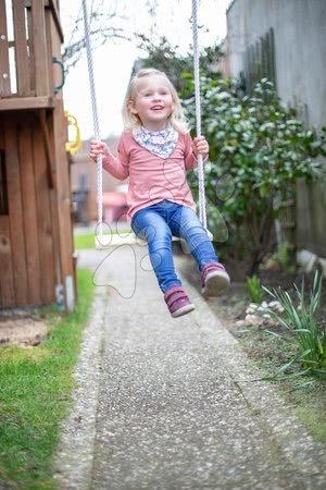 Gyerekhinták - Fa laphinta Plank Swing Outdoor Eichhorn natúr 140-210 cm hosszú 40*14 cm és 60 kg teherbirás 3 évtől_1