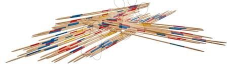 Jocuri de societate - Mikado din lemn Outdoor Eichhorn bambus colorat 41 bețe 50 cm lungime