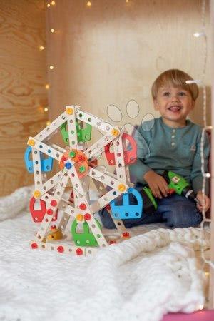 Eichhorn - Drvene kocke lunapark Constructor Big Wheel Eichhorn 3 modela (lunapark, svjetionik, žičara) 240 dijelova od 6 godina_1