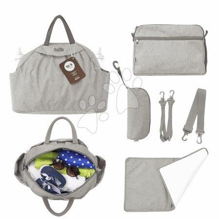 Přebalovací taška Chic 5v1 toTs-smarTrike s vnitřní taškou a termoobalem na láhev béžová