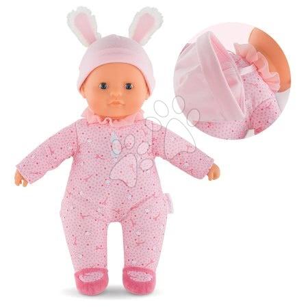 Bábika Sweet Heart Pink Corolle s modrými očami a snímateľnou čiapočkou 30 cm od 9 mes