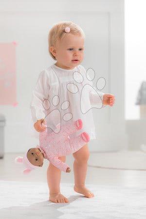 Bábiky od 9 mesiacov - Bábika Sweet Heart Candy Corolle s čiernymi očami a snímateľnou čiapočkou 30 cm od 9 mes_1