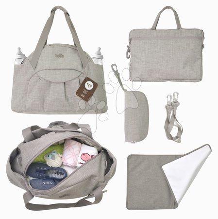 Přebalovací taška Voyage 4v1 Tots-smarTrike s vnitřní taškou a termoobalem na láhev béžová