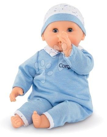 Panenka Bébé Calin Mael Corolle s modrými mrkacími očima a fazolkami 30 cm od 18 měs